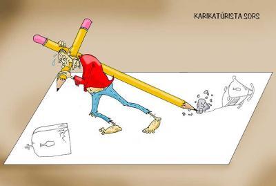 Karikaturista sors / Cartoonist fate